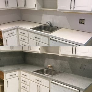Countertop-refinishing